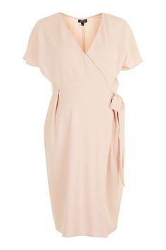 MATERNITY Wrap Midi Dress - Topshop