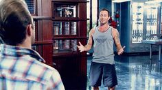 # MCDANNO # looks happy for once