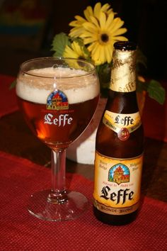 Score 8/10 Leffe Blonde (6.6%)  Belgian blond beer, one of my past all time favourites but a victim of it's success.  Rumours says because it's available everywhere in the world a lot more chemicals are used.  I love it especially in the summer time it can be drinked chilled.  Very easy drinking. This is also a Belgian abbey beer, this brewery has a lot more suberb beers.  Yes it's important that Belgium stays together otherwise this would be a foreign beer, and I hate strong competition!!
