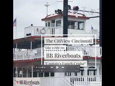 Ohio River Cruise - YouTube Ohio River, Where To Go, Cincinnati, Kentucky, Cruise, Bb, Multi Story Building, Lunch, Explore