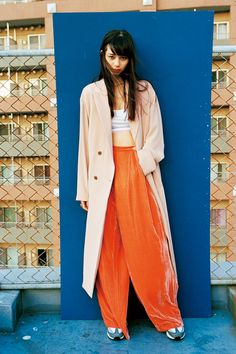 Baby girl style from Nylon japan Fashion Shoot, Editorial Fashion, Girl Fashion, Womens Fashion, Japanese Models, Japan Fashion, Street Style Women, Korean Fashion, Fasion
