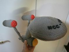 Speaking of Star Trek crochet, who would have thought to crochet the Enterprise?