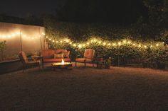 Just Make Stuff Blog...Colorful Backyard Fire Pit