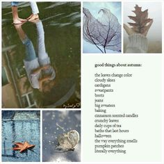 Good things about autumn. #moodboard #mosaic #collage #byJeetje♡