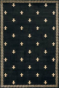 Momeni Harmony HA-19 Black 5' x 8' by Momeni. $299.00. Collection: Harmony.. Color: Black.. Design is stylish and innovative. Satisfaction Ensured.. Great Gift Idea.. Size: 2'-6 x 8' Runner.. HA-19 Harmony area rug has Momeni quality, black finish, fleur de lis pattern, geometric border, wool weave and many size, shape options. Hand tufted and carved. 100% Wool. Available in various sizes Harmony rug has hand carving which enhances the details in the beautiful floral an...