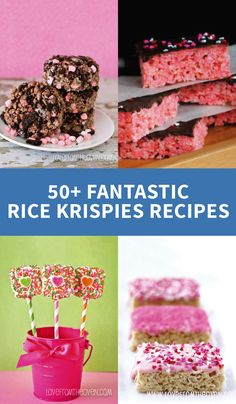 In our opinion, the best part about Rice Krispies® is their versatility! Whether you're looking for a delicious after school snack or a Valentine's Day dessert for your kid's classroom, you're sure to find the perfect creation with these 50+ Fantastic Rice Krispies Treats® Recipes.
