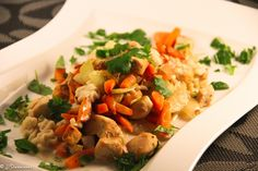 Thaigryta 4 Port 8 SmartPoints Thai Red Curry, Risotto, Chicken Recipes, Meat, Cooking, Ethnic Recipes, Drink, Recipe, Alternative
