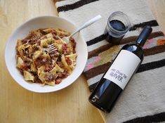 Curling up on the sofa on a fall night, in front of a great movie, with a warm bowl of pasta and a big glass of red wine is heaven. A hearth Malbec does just the trick.