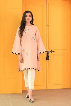 Casual Shirts – Ethnic by Outfitters Source by dresses indian Simple Pakistani Dresses, Pakistani Dress Design, Designer Party Wear Dresses, Kurti Designs Party Wear, Stylish Dresses For Girls, Stylish Dress Designs, Shirt Design For Girls, Pakistani Fashion Party Wear, Kurta Neck Design