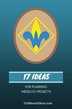 The Webelos Craftsman projects require some planning, but this is a fun activity badge for the boys to earn.