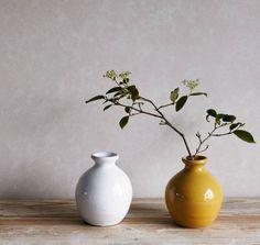 home address - hand-thrown terracotta vase
