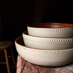 Some new bowls all finished up. #andnorth #kinfolk #kinfolktable #handmade #home #kitchen #woodenbowl