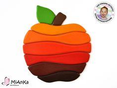 Holz Puzzle Apfel von MiAnKa auf DaWanda.com
