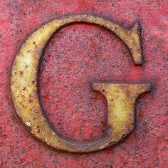 letter G by Leo Reynolds, via Flickr