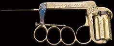 Delhaxhe Knuckleduster Revolver, 1970