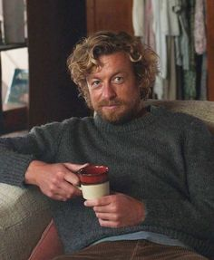 Photo Simon Baker, I Love Simon, Robin Tunney, Beard Boy, Patrick Jane, The Mentalist, Best Tv, Celebrity Crush, Breathe