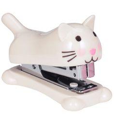 foxtrot cute cat stapler from Paperchase