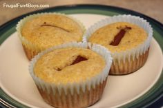 Corndog muffins that kids can bake themselves