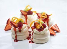 mini marshmallow pavlova - Google Search