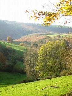 Walking in the Brendon and Quantock Hills Somerset The Coleridge Way