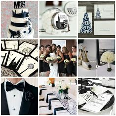Start Spreading The News � New York Themed Wedding Styling and Moodboards