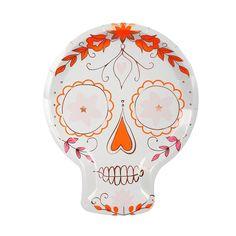 Large Halloween Day of the Dead FOIL Sucre Crânes Table Confettis Décorations 5 cm