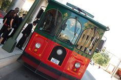 Trolley in San Antonio