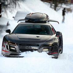 Audi R8 - Winter Sports