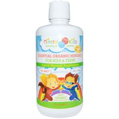 Morningstar Minerals, Mineral Kids, Essential Organic Minerals, For Kids and Teens, 32 oz (946 ml)