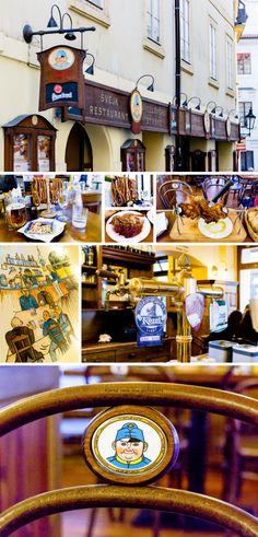 Czech Republic | Prague | Svejk Restaurant | Local Food