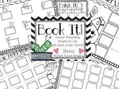 Pocket Full of Kinders!: {Freebie} Center recording sheets  to use with left over book order forms