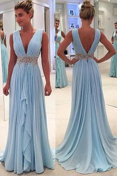 A-Line Wedding Dress, V-Neck Wedding Dress, Prom Dresses 2019, Prom Dresses Blue, Sleeveless Wedding Dress, Cheap Wedding Dress #Prom #Dresses #2019 #ALine #Wedding #Dress #VNeck #Blue #Cheap #Sleeveless #SleevelessWeddingDress #CheapWeddingDress #PromDressesBlue #PromDresses2019 #VNeckWeddingDress #ALineWeddingDress