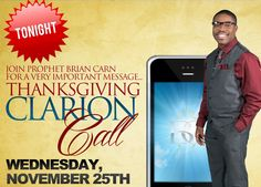 Prophet Brian Carn - Hear the Word of the Lord
