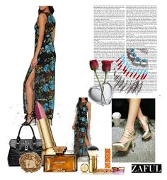 """Zaful# II-134"" by merima-musanovic ❤ liked on Polyvore featuring mode, Simon Pearce, Christian Dior, Urban Decay, Judith Leiber, Tory Burch et zaful"