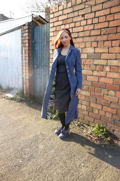 The Rumana Coat sewing pattern from By Hand London, a fully lined coat with princess seams, welt pockets and an elegant collar and lapel. Coat Pattern Sewing, Sewing Patterns, By Hand London, The Fold Line, Dress Making Patterns, Princess Seam, Wardrobes, Dressmaking, Hand Sewing
