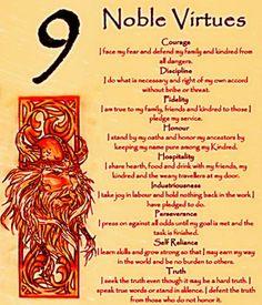.9 Noble Virtues