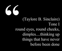 "This quote courtesy of @Pinstamatic (http://pinstamatic.com) from taylore b sinclaire's www.illuminessensce.com description of her tone I (corresponds to spring/ #type1) = ""round eyes, round cheeks, dimples....thinking up things that have never before been done"" READ AT THIS LINK: http://web.archive.org/web/20040622194343/http://illuminessensce.com/toneI.htm similar to #dyt & suzanne caygill."