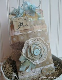 Really Reasonable Ribbon Blog: Wanna make a shabby bloom?
