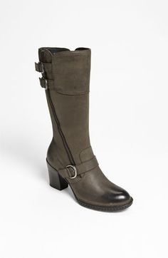 I wish these came in a wide shaft, I'd love to have these. Børn 'Treddy' Boot (Nordstrom Exclusive) available at #Nordstrom
