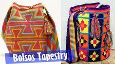 Bolsos Tejidos con Tecnica Tapestry Hermosos Diseños