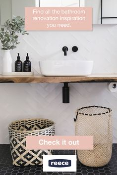Be Inspired By Australian Bathroom, Kitchen And Garden Projects on Home Bathroom Ideas 5897 House Bathroom, Bathroom Interior, Bathroom, Bathroom Makeover, Laundry In Bathroom, Bathroom Design, Bathroom Renovations, Beach House Bathroom, Tile Bathroom