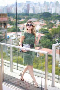 Look – Vestido Verde
