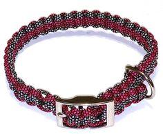 Paracord Dog Collar braided dog collar for big by BarrysParacord
