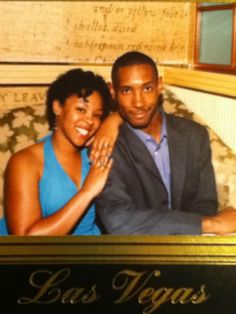 """""""This was our second wedding anniversary, and we are now approaching our ninth. My husband is a man of God, a hard worker, a great father and my best friend."""" --Shannon Mays"""