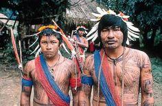 Pilolo et Guaranis, deux de nos chasseurs.