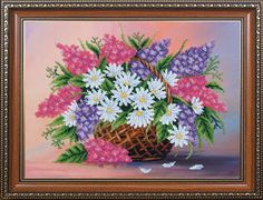 Hand Embroidery Flowers, Hand Embroidery Kits, Flower Embroidery Designs, Modern Embroidery, Beaded Embroidery, Embroidery Ideas, Beaded Cross Stitch, Modern Cross Stitch, Cross Stitch Kits
