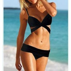 Victoria Secret. I love the top to this bathing suit. SUMMER TIME getting ready!