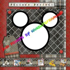 Sample Disney Scrapbook Pages | Details about DISNEY MICKEY/FRIEND~ DIGITAL SCRAPBOOK PREMADE PAGES~CD