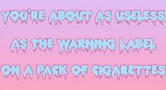 pastel goth tumblr quotes - Google Search
