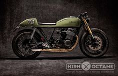 Honda CB750 Cafe Racer by High Octane Speed Shop #motorcycles #caferacer #motos | caferacerpasion.com